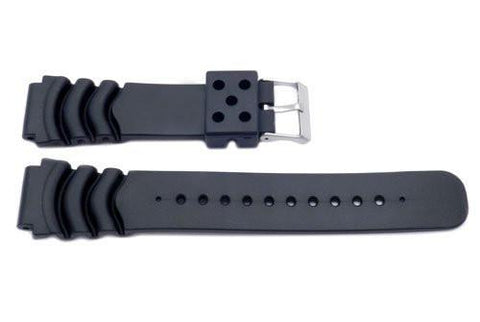 Black Citizen Style Plain Watch Band - YK320