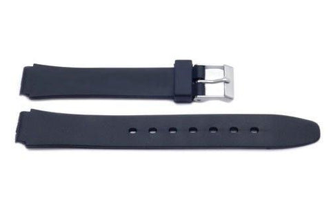 Black Casio Style Watch Band - P3002