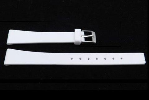 White Polyurethane Replacement Watch Band