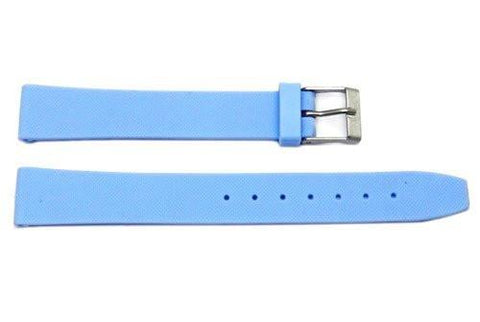 Light Blue Polyurethane Watch Band - P3006