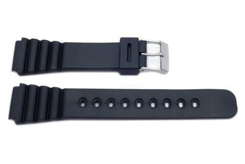 Black Casio Style 18mm Watch Strap P3021