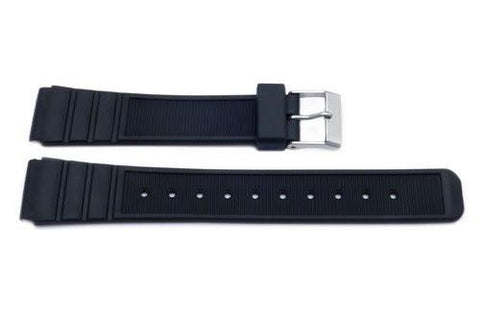 Black Casio Style Sport Watch Band P3032