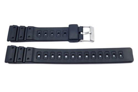 Black Casio Style Sport Watch Strap P3035