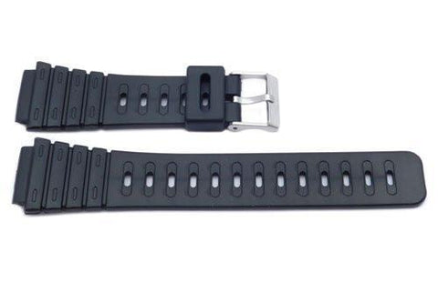 Black Casio Style 20mm Watch Strap P3044