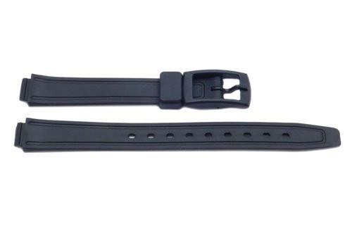 Black Q and Q Style 12mm Watch Band P3074