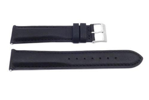 Swiss Army Black Leather Field Series Watch Strap