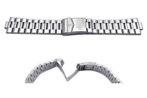 Swiss Army Stainless Steel Summit Chrono Watch Strap