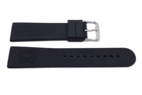 Swiss Army Black Rubber Maverick II Watch Band