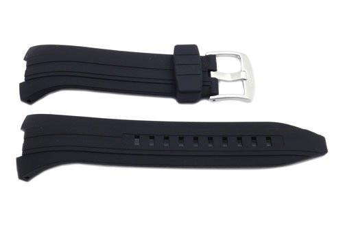 Seiko Black Rubber 28mm Watch Band