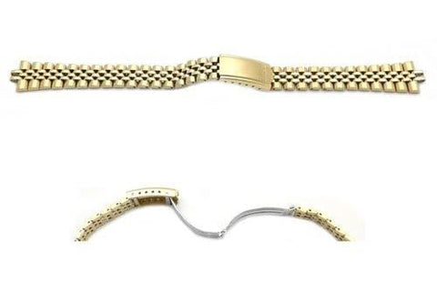 Seiko Gold Tone Jubilee Style Watch Band