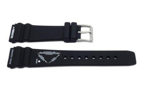 Genuine Citizen Black Promaster Race Course Series 20mm Rubber Watch Strap