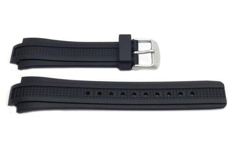 Citizen Black Rubber Eco Drive 13mm Watch Strap