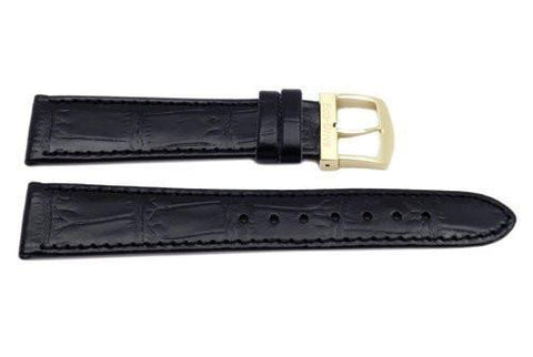 Citizen Black Leather Alligator Grain Watch Band
