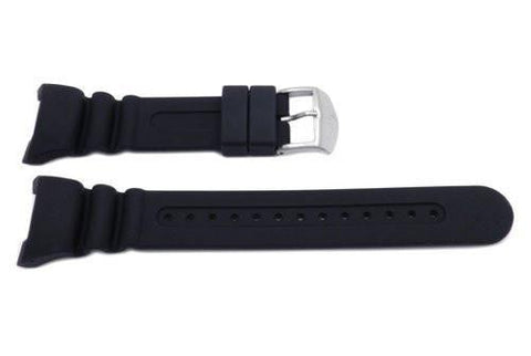 Citizen Black Rubber Aqualand Long Watch Strap