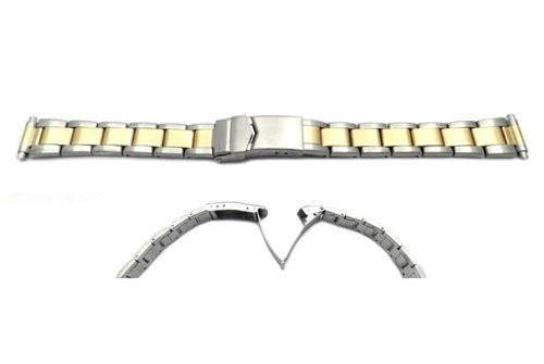 Hadley Roma Ladies' Dual Tone Watch Bracelet