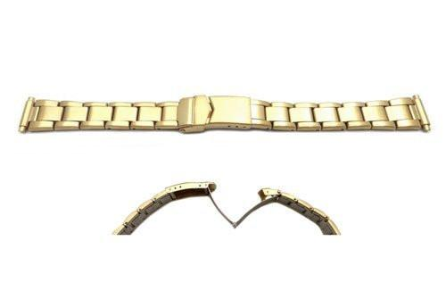 Hadley Roma Ladies Gold Tone Watch Bracelet