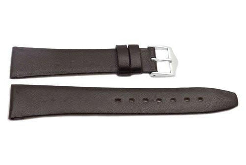 Brown Genuine Calfskin Movado Style Watch Strap