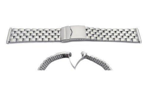 Hadley Roma Titanium Sport Link Style Watch Band