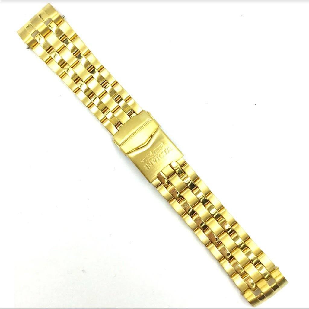 Genuine Invicta Gold Tone Band for Cruiseline 16562