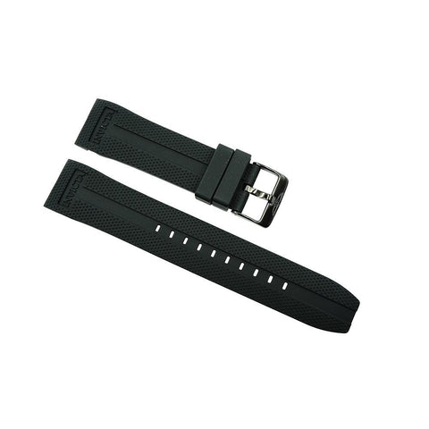 Invicta Black 24mm Rubber Strap For Specialty 1674