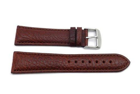 Hadley Roma Tan Mens Genuine Leather Watch Band