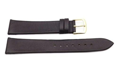 Hadley Roma Brown Mens Genuine Calfskin Watch Band