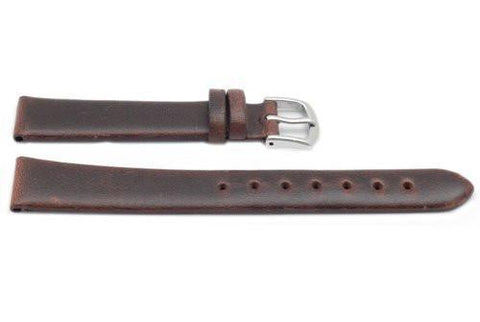 Hadley Roma Brown Ladies Oil Tan Leather Watch Strap