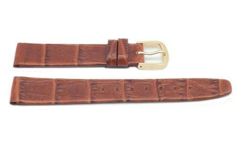 Hadley Roma Honey Ladies Alligator Grain Watch Strap