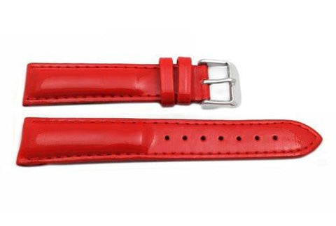 Hadley Roma Ladies Coral Genuine Leather Watch Strap