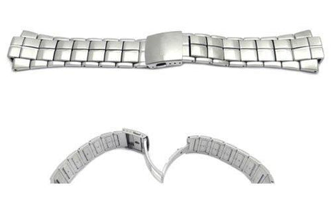 Seiko Stainless Steel Sportura 28mm Watch Strap