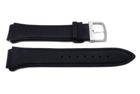 Citizen Black Smooth Leather Eco-Drive Watch Strap