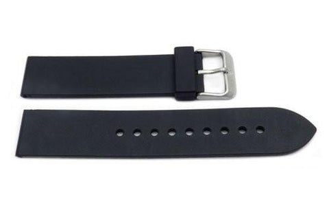 Swiss Army Black Rubber Recon 20mm Watch Strap