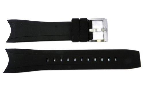 Genuine Citizen Aqualand Eco-Drive Black 22mm Rubber Watch Band
