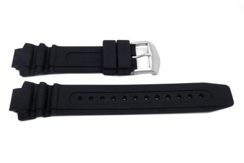 Genuine Citizen Black 25mm Rubber Watch Band