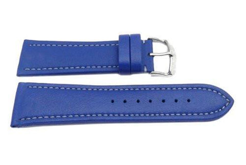 Hadley Roma Genuine Lorica Blue Invicta Style Waterproof Watch Strap