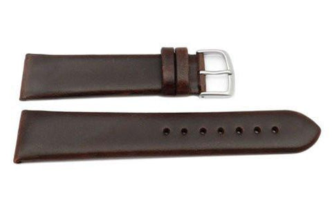 Hadley Roma Brown Kenneth Cole Style Oil Tan Leather Watch Band
