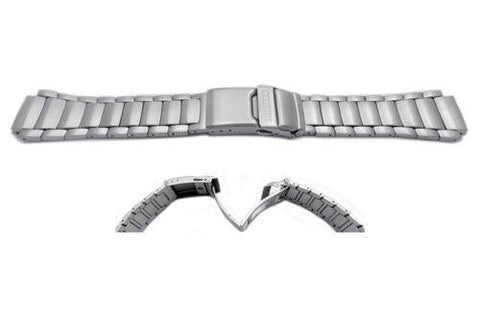 Genuine Citizen 17mm Eco-Drive Skyhawk Silver Tone Stainless Steel Watch Strap