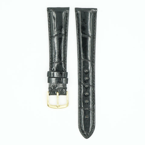 Select Alligator Black Watch Strap