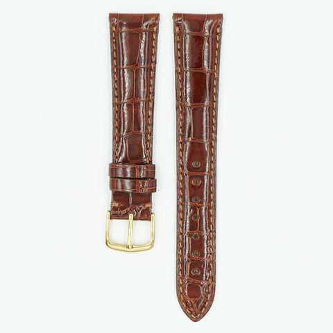 Select Alligator Tan Watch Strap