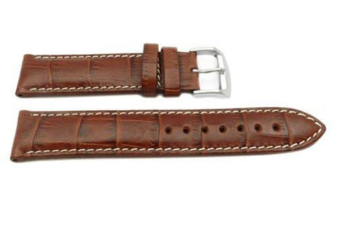 Citizen Genuine Brown Textured Leather 21mm Watch Strap