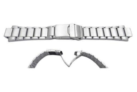 Genuine Citizen Brushed and Polished Silver Tone Titanium Watch Bracelet