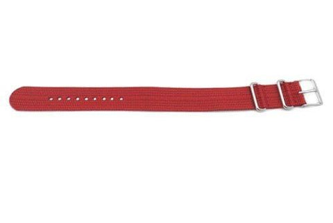 Timex 20mm Red Weekender/Nato Band