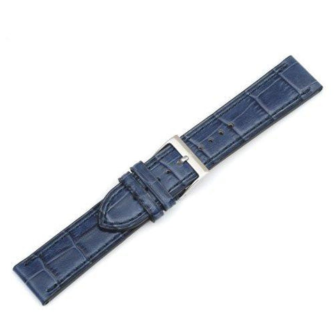 Swiss Army Alliance Chrono Dark Blue Alligator Grain Leather Watch Strap