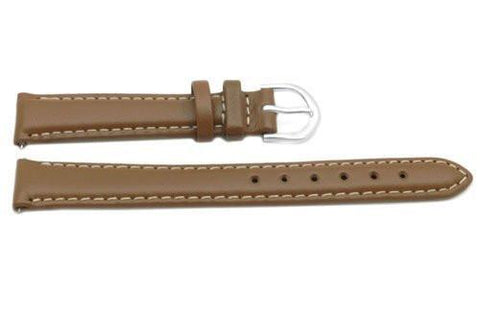 Timex Brown Calfskin Leather 14mm Ladies Watch Band