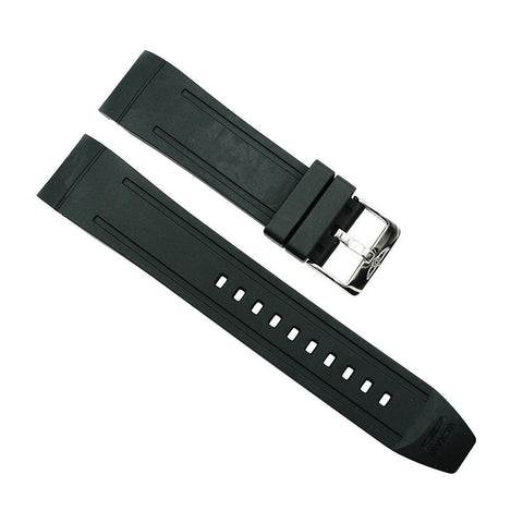 Invicta Black 24mm Rubber Watch Strap For Pro Diver 21444