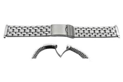 Timex 16-20mm Mens Stainless Steel Non-Expansion Watch Band
