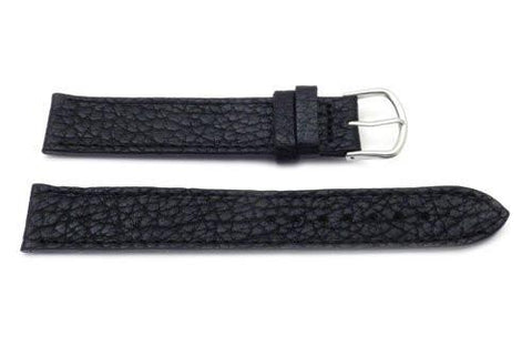 Swiss Army 20mm Black Leather Watch Strap for Original