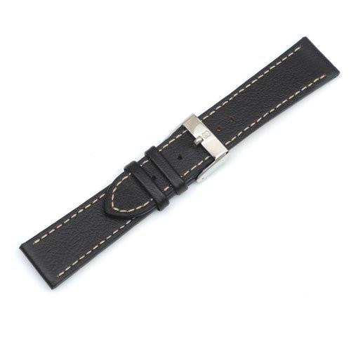 Swiss Army Infantry 22mm Brown Leather Watch Strap