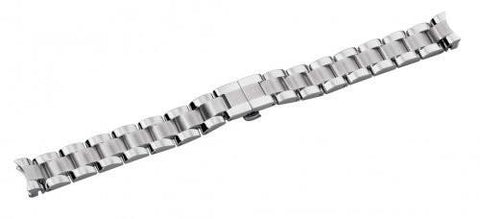 Swiss Army 14mm Vivante Satin and Polished Stainless Steel Watch Bracelet
