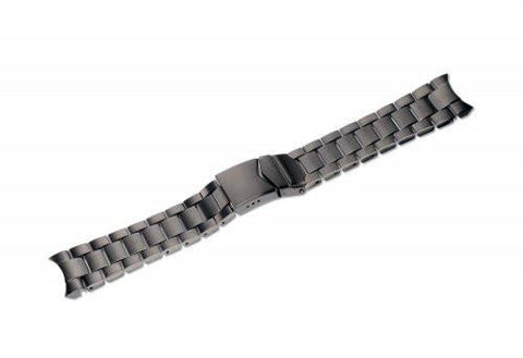 Swiss Army 23mm Infantry Gunmetal Stainless Steel Watch Bracelet